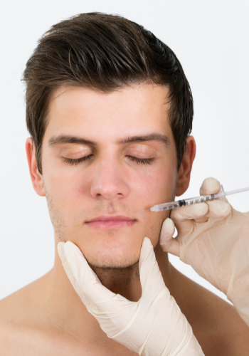 Face injections by plastic surgeon Dr. Sergio Soberanes in Tijuana